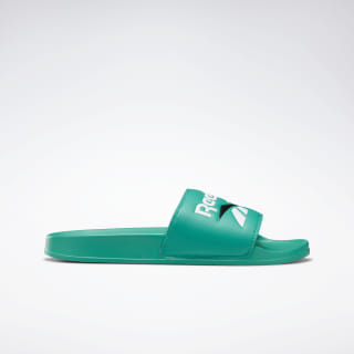 Chanclas Reebok Classic Slide Emerald / White / Black DV9406