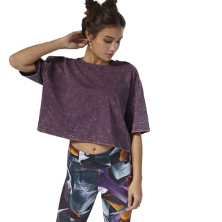 T-shirt Dance Washed Urban Violet DU5225