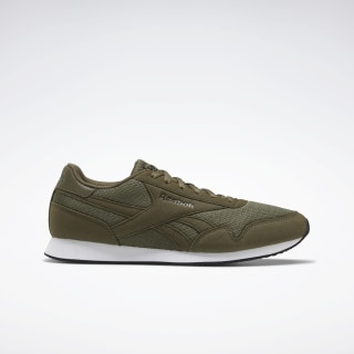 Reebok Royal Classic Jogger 3.0 Shoes Army Green / Black / White EF7798
