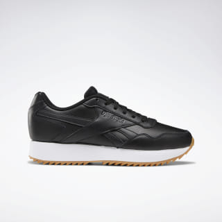 Reebok Royal Glide Ripple Double Shoes Black / White / Grey / Gum DV6674