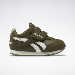 Reebok Royal Classic Jogger 2.0 Shoes Army Green / Chalk / None EF3733