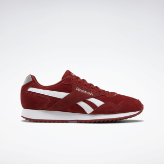 Reebok Royal Glide Ripple Shoes Red Ember / Powder Grey / White EF7699