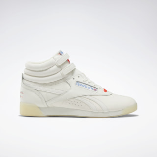 Freestyle Hi Shoes White / Chalk / Neon Red DV7358