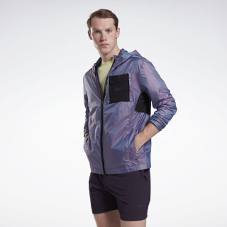 Chaqueta One Series Running Night Run Purple Delirium FJ4032