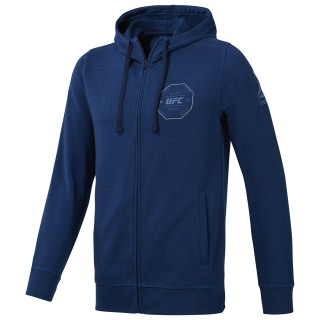 Худи UFC Fan Gear Full-Zip bunker blue D94961