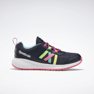 Reebok Road Supreme Shoes Collegiate Navy / Solar Pink / Neon Blue EH0629