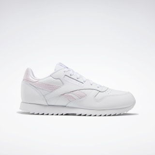 Classic Leather White / Pixel Pink / None EG6001