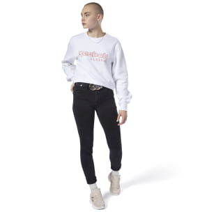 Reebok Classics Fleece Sweatshirt White EB5150