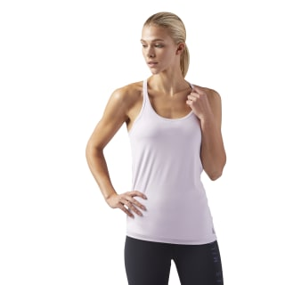 LES MILLS®™ Tank Top with Padded Sports Bra Quartz CD6211