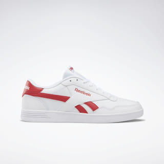 Reebok Royal Techque T Shoes White / Rebel Red DV8779
