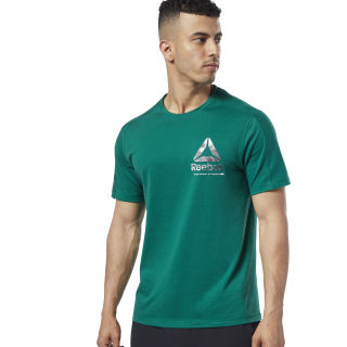 One Series Training Speedwick Tee Clover Green EC1008