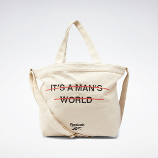 Classics It's a Man's World Tote Bag Non Dyed FM4859