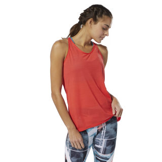 WOR ACTIVCHILL Tank Top Canton Red DU4866