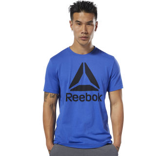 Camiseta QQR- Reebok Stacked Crushed Cobalt DU4688