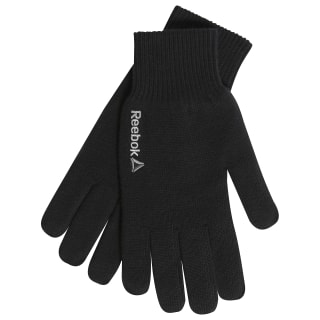 SE M Logo Gloves Black BQ1194