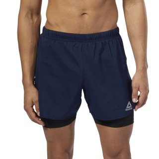 Running 2-1 Short Collegiate Navy D92938