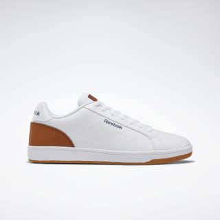 Reebok Royal Complete Clean Shoes White / Brown / Navy / Gum DV8821
