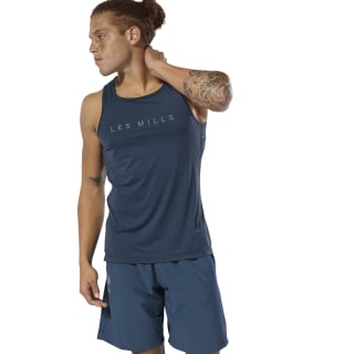 Short LES MILLS® SpeedWick Speed Blue Hills DV2726