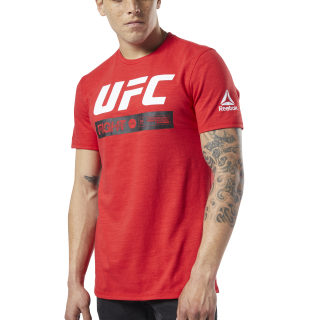 T-shirt UFC Fight Week Fan Gear Primal Red EC1255