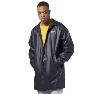 Classics International Long Raincoat Black EB3607