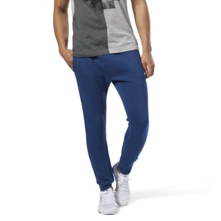 Training Essentials Marble Pant Bunker Blue CY4851