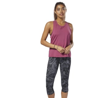 Perforated Speedwick Tanktop Red D93962