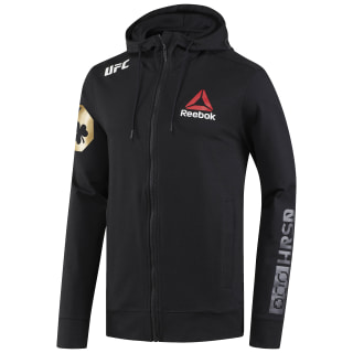 UFC Fight Kit Walkout Hoodie - McGregor Black / Ufc Gold CF0321