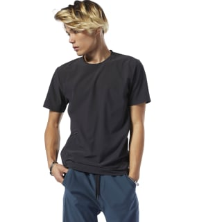 Training Supply Woven T-Shirt Black DP6120