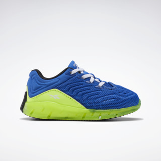 Zig Kinetica Shoes - Toddler Humble Blue / Solar Yellow / White FX0481