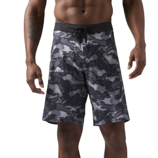 Pantalón corto Reebok CrossFit Splash Camo Black CD7605