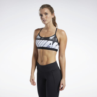 Reebok CrossFit® Medium-Impact Skinny Bra Sterling Grey FK4381