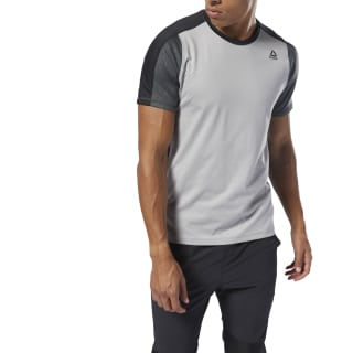 Remera Ost Smartvent Move Tee mgh solid grey DP6573