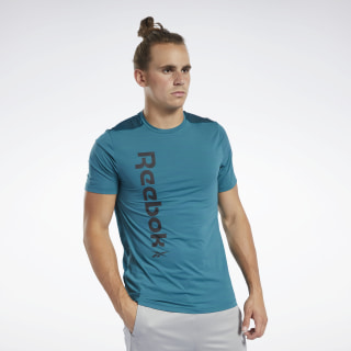 T-shirt Workout Ready ACTIVCHILL Heritage Teal FK6171