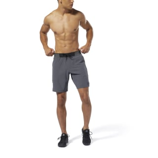 Pantalón corto Training Epic Knit Waistband Dark Grey Heather DP6570