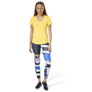 T-shirt Workout Ready Speedwick Solar Gold DX0546