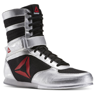 Reebok Boxing Boot - PAT Silver Metallic / Black / White BD1346