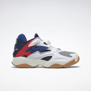 Pump Court Shoes White / Collegiate Navy / Chalk FV5565