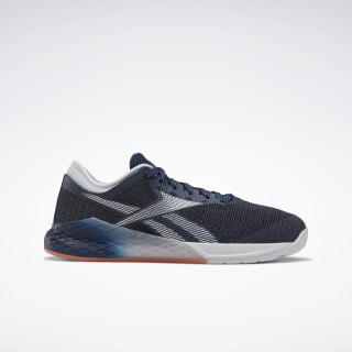 Reebok Nano 9 Women's Training Shoes Collegiate Navy / Sterling Grey / Vivid Orange FV5503