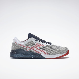 Nano 9.0 Shoes White / Collegiate Navy / Primal Red FV5908