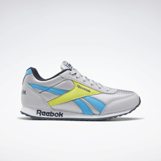 Reebok Royal Classic Jogger 2.0 Shoes Cold Grey 2 / California Blue / Collegiate Navy EH2116