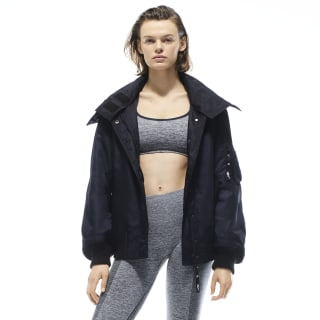 VB Hooded Jacket Vb Night Navy FM3592