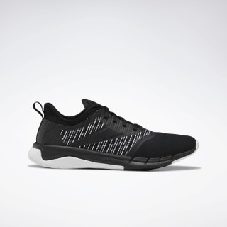 Reebok Print Run 3.0 Shoes Black / White / Black EF8828