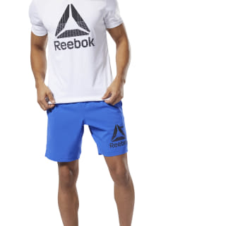 WOR Woven Graphic Shorts Crushed Cobalt DU2164