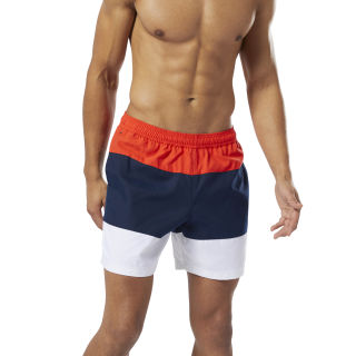 Beachwear Modern Retro Shorts Canton Red DW9564