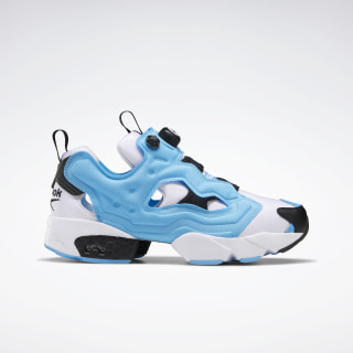 Instapump Fury Original Men's Shoes White / Black / Bright Cyan EH1786
