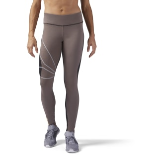Running Tights Brown / Smoky Taupe CD5458