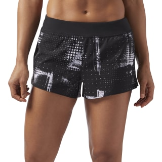3in Woven Shorts Black/White CF5858