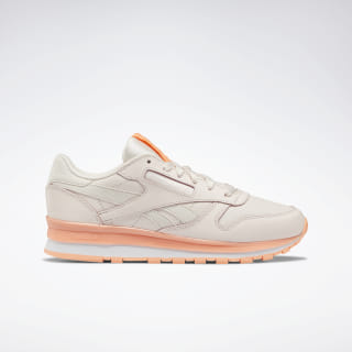Кроссовки Reebok Classic Leather PALE PINK/SUNGLOW/WHITE DV8761