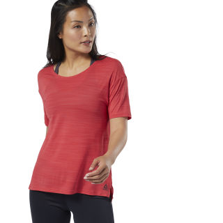 WOR ACTIVCHILL Tee Rebel Red EC2252