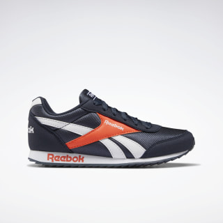 Reebok Royal Classic Jogger 2.0 Collegiate Navy / Vivid Orange / White EF3418